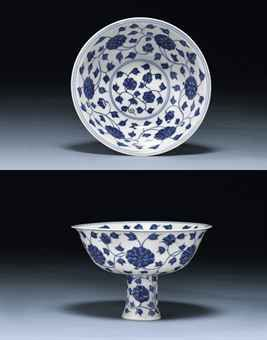 a_fine_and_very_rare_ming_blue_and_white_stembowl_wanli_six_character_d5448466h