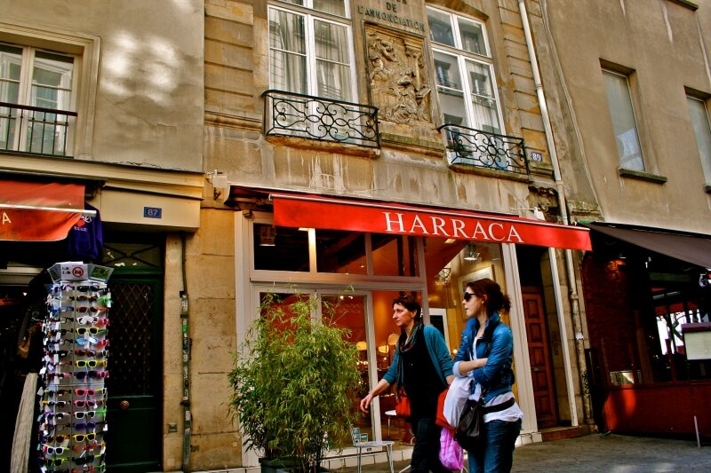 Instantané rue Saint-Martin.