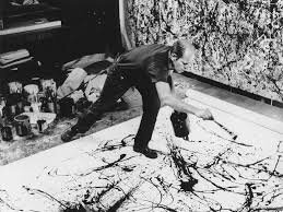 action painting Pollock(4)