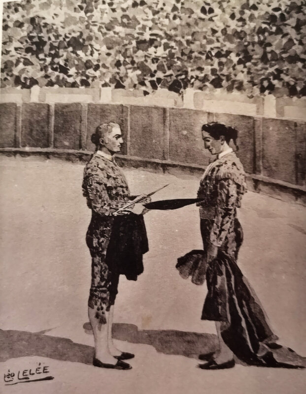 l alternative léo lelee 1913 ouvrage impressions de toreros Hermoso photo 2