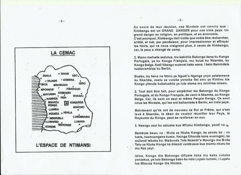 LE SEIGNEUR KIMBANGU ET L'AFRIQUE CENTRALE b