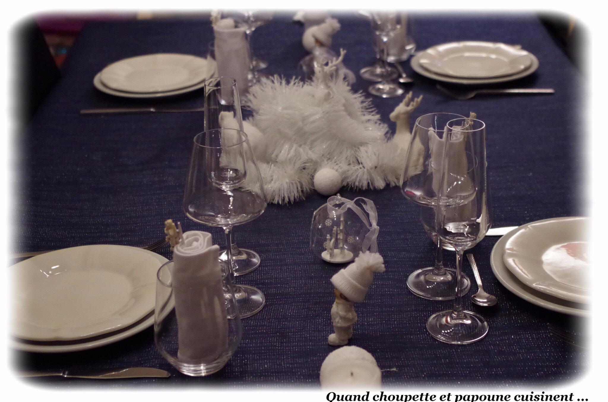 MA TABLE NOEL BLANC