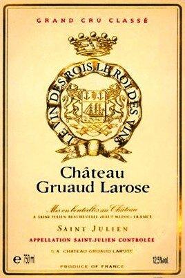Etiquette Gruaud-Larose