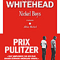 Nickel boys - colson whitehead