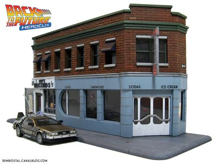 Lou's cafe roy's records back to the future bttf scenery heroclix remi bostal (1)