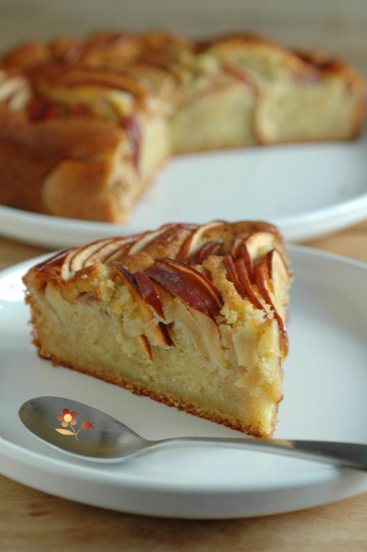 Gâteau pommes & frangipane_9
