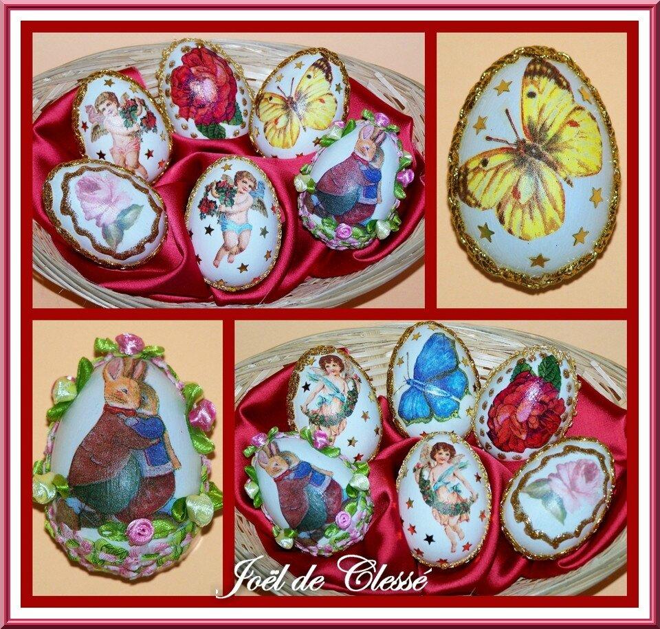 Collage œufs de Pâques 1