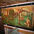 Dream garden mural