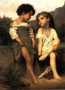 220px-William-Adolphe_Bouguereau_(1825-1905)_-_At_the_Edge_of_the_Brook_(1879)