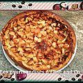 Clafoutis pommes et caramel