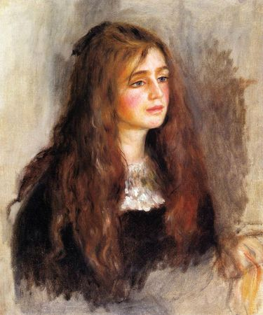 Renoir Portrait de Julie Manet 1894