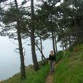 Rando sur un sentier du littoral