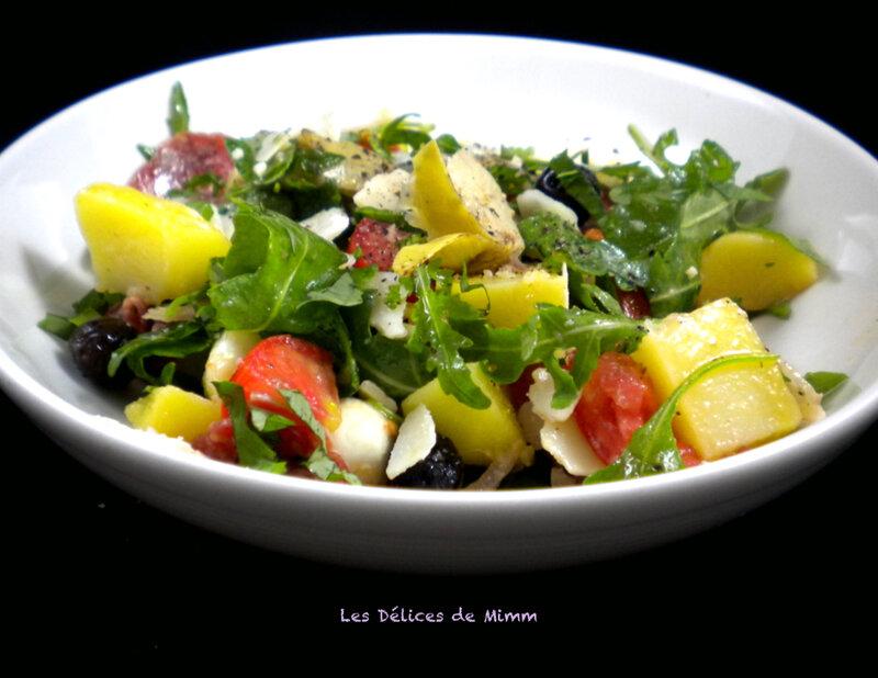 Salade de pommes de terre à l'italienne 2