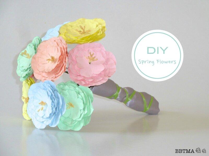 DIY SPRING FLOWERS 1