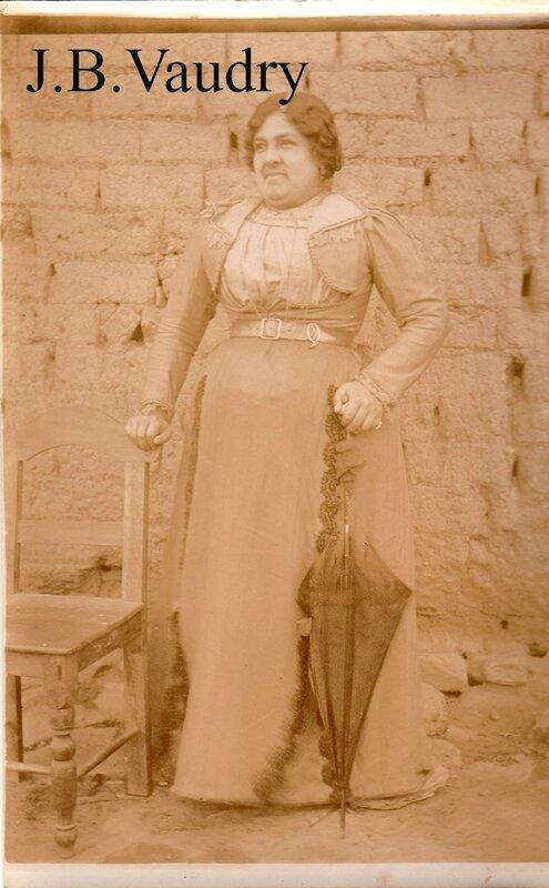 una senora de Padilla - Julio 1903