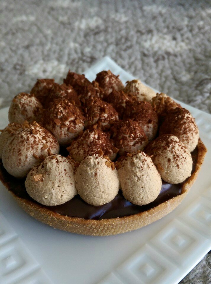 Tartelettes chocolat, café et whisky