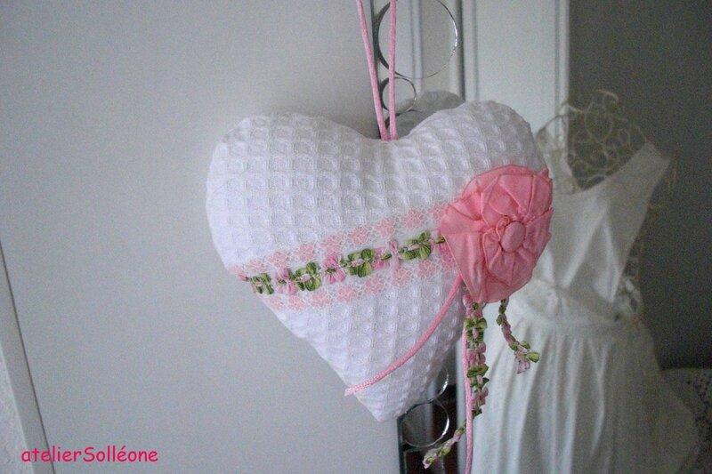 coeur fleurs roses 15