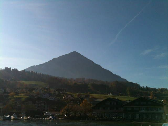 Croisière Thun - Interlaken à bord du Berner Oberland
