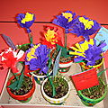 Cadeau fête des mères - pot de fleur
