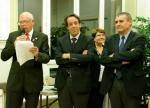 Jean-Louis Tixier, Guillaume Lacroix et Xavier Breton ont ouvert la biennale avec enthousiasme.