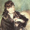 Eduard Manet - Portrait of Berthe Morisot