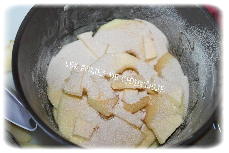 Gâteau de pommes 5