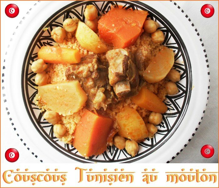 couscous tunisien au mouton 1