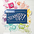 Catalogue annuel stampin'up! 2018-2019