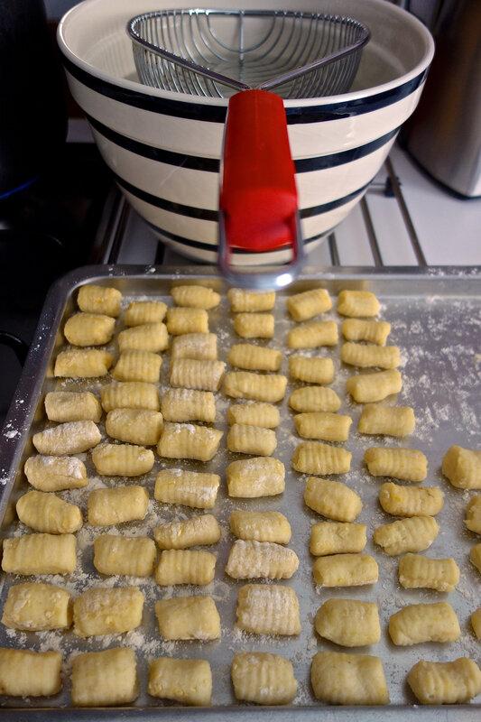 cuisson des gnocchi
