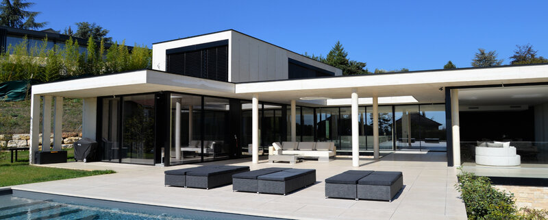 Architecte villa contemporaine luberon