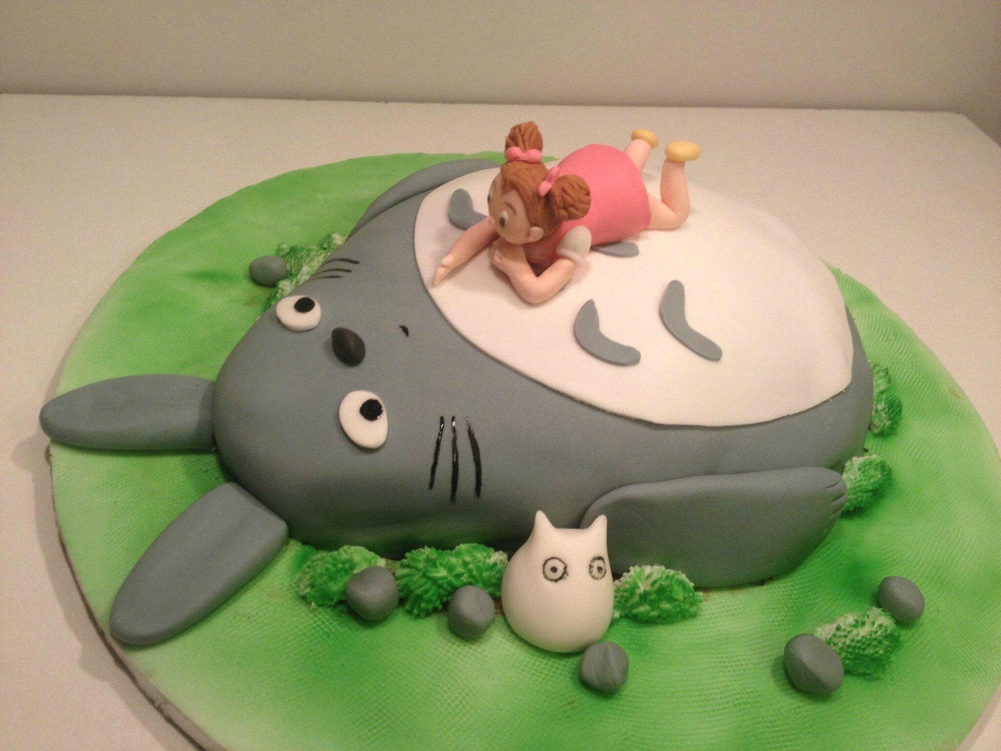 Gâteau Mon voisin Totoro