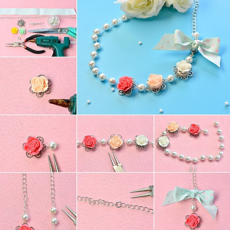 1080-How-to-Make-a-Beaded-Flower-Necklace-with-White-Pearl-Beads-and-Ribbon-Bowknot