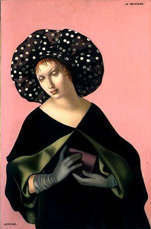 Lempicka Femme au chapeau 1952