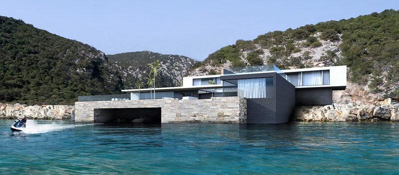 maison - contemporaine - architecte saint tropez