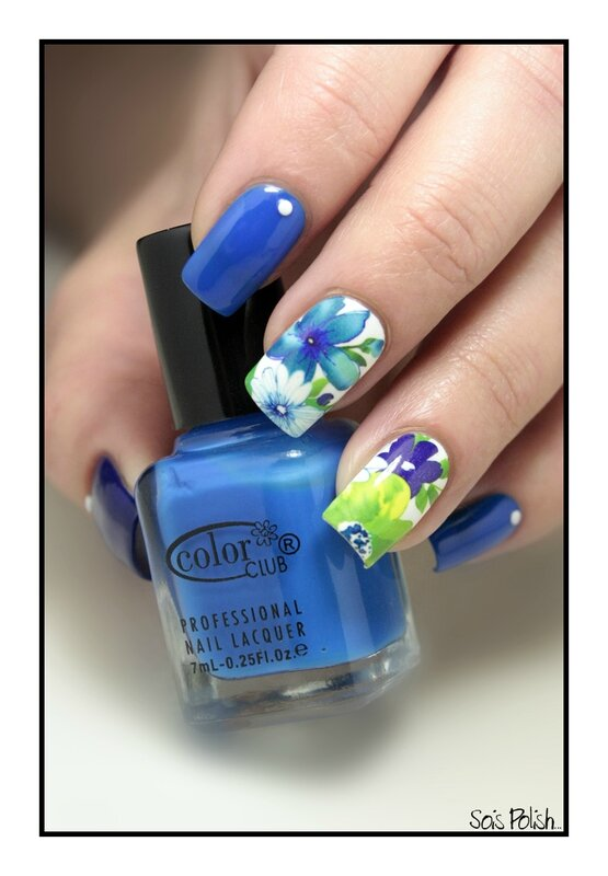 Kiko Color Club Water Decals Sois Polish