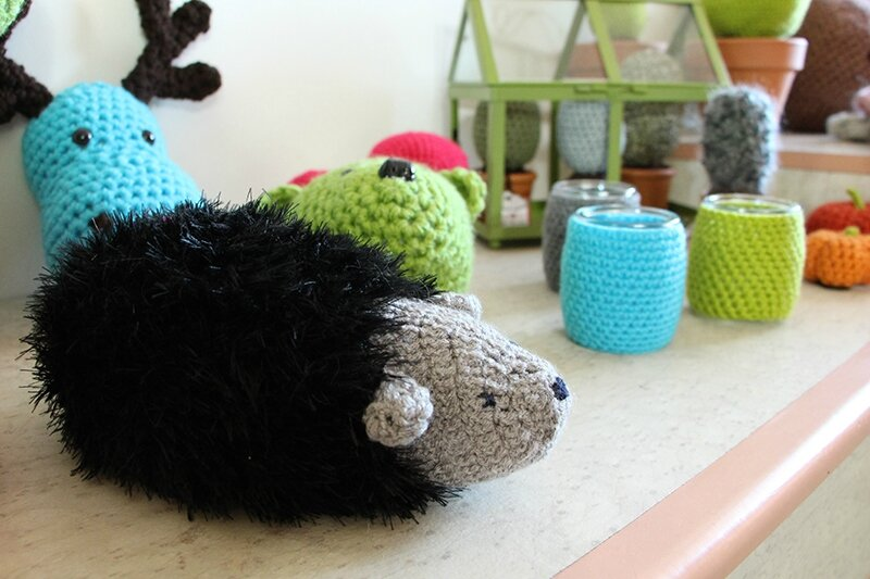 herisson crochet