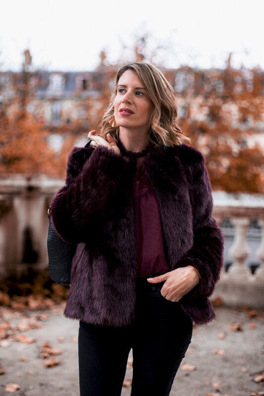 Burgundy lace and faux fur (6)