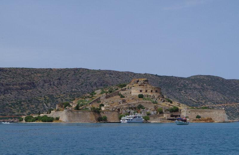 Cathy-16 île de Spinalonga au large de la Crète