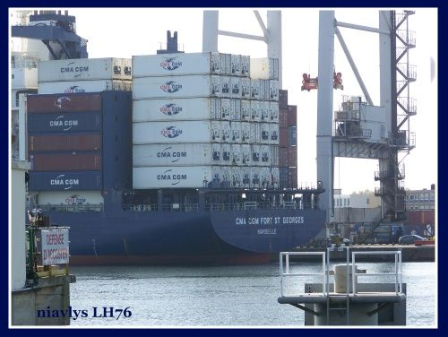 CMA CGM Fort St Georges 2