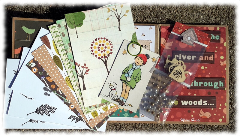 Reçu d'Heidi, Cards and Stamps Addicts - 6