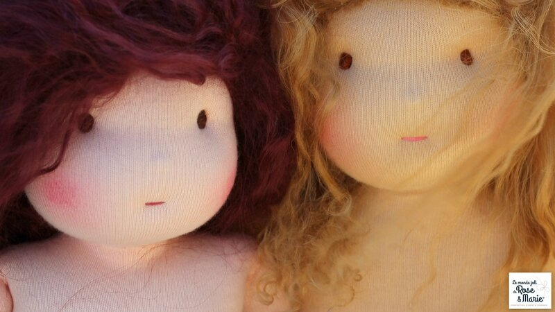 Madeleine et Aurélie Le Monde JOli de Rose et Marie