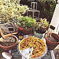 Tarte estivale courgettes et curry - concours arôme saveur maggi