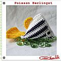 Poisson berlingot crochet le tuto