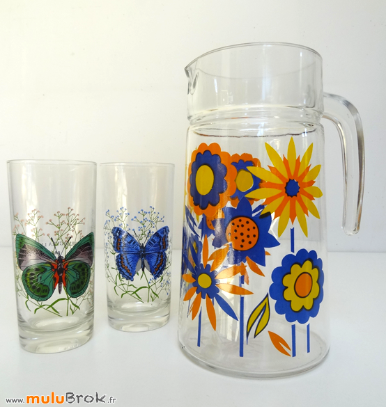 PICHET-Fleurs-Orange-Bleu-1-muluBrok-Vintage