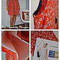 Robe fleurie Lisette Atelier Brunette Fées Mains by Marjorie1