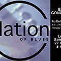 Samedi 27 mai à 16h au belvédère nation of the blues