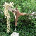 Sculpture ' l'arabesque