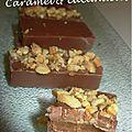 Choco lait, caramel & cacahuètes 1