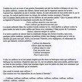 texte sur CAILLOU (janvier 2008)