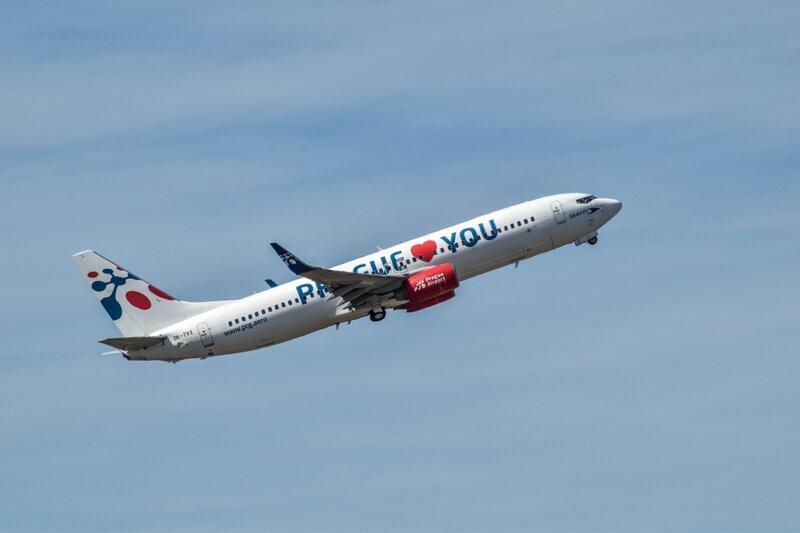 Boeing 737 de Travel Service